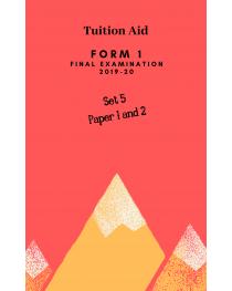 F1 Final Examination 2019-20 set 5