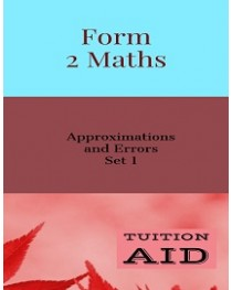 Approximation and Errors Set 1