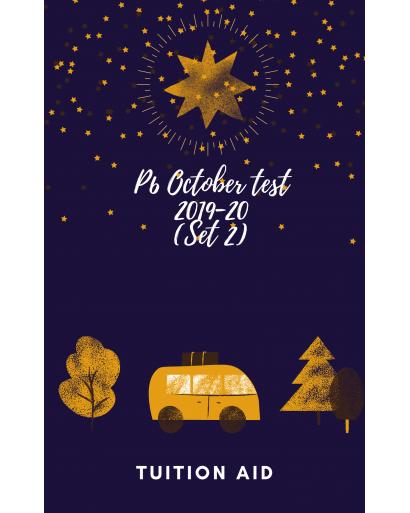 P6 October Test 2019-20 Set 2