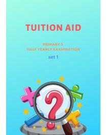 Primary 5 Half Yearly Exam Set 1
